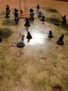 Dungeons and Dragons battle scene